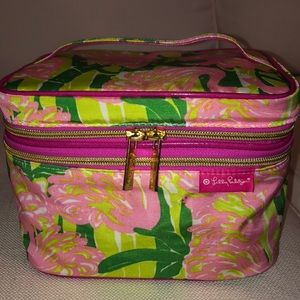 LILLY PULITZER makeup train case